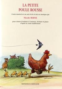 Deedr.fr La petite poule rousse - Conte musical en un acte pour choeur d'enfants à l'unisson, récitant et piano d'après le conte traditionnel Image