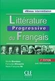 Nicole Blondeau et Ferroudja Allouache - Littérature progressive du français - Niveau intermédiaire. 1 CD audio