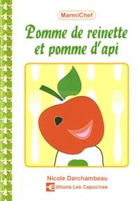Nicole Darchambeau - Pommes de reinette et pomme d'api.