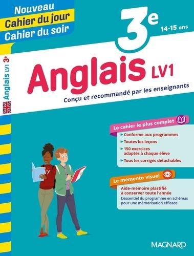 Cahier du jour/Cahier du soir Anglais LV1 3e + mémento  Edition 2019