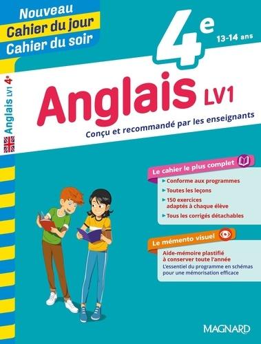Cahier du jour/Cahier du soir Anglais LV1 4e + mémento  Edition 2019