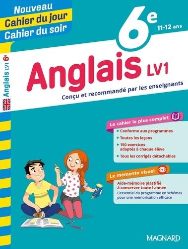 Cahier du jour/Cahier du soir Anglais LV1 6e + mémento  Edition 2019
