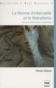 Nicole Dubois - La norme d'internalité et le libéralisme.
