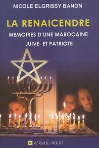 Histoiresdenlire.be La renaicendre - Mémoires d'une Marocaine juive et patriote Image