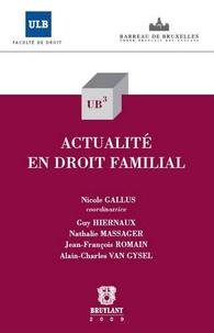 Nicole Gallus - Actualité en droit familial.