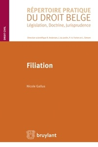 Nicole Gallus - Filiation.