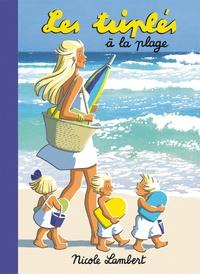 Nicole Lambert - Les triplés  : Les triplés à la plage.