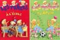 Nicole Lambert - Les Triplés Pack 3 exemplaires - Les triplés à l'école. Les triplés au jardin. Les triplés et leur super grand-père.