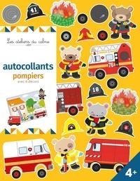 Nicole Maubert et Patrick Chauvet - Autocollants pompiers avec 6 décors.