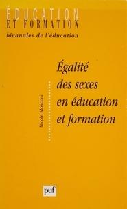 Nicole Mosconi - Égalité des sexes en éducation et formation.