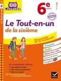 Nicole Nemni-Nataf et Patrick Vermeulen - Chouette Le tout-en-un 6e - nouveau programme.