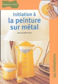 Nicole Plaisant-Sage - Initiation à la peinture sur métal.