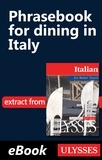 Nicole Pons - Italian for better travel - Phrasebook for dining in Italy.