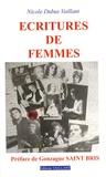 Nicole Vaillant Dubus - Ecritures de femmes.