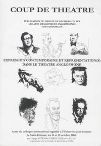 Nicole Vigouroux-Frey - Expression contemporaine et représentation(s) dans le théâtre anglophone - Schèmes, transcendance et subversion des schèmes.