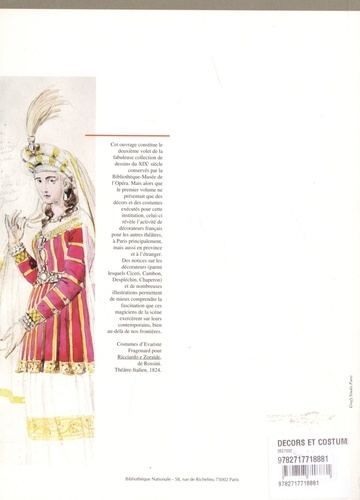 Décors et costumes du XIXe siècle. Tome 2, Théâtres et décorateurs