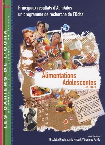 Nicoletta Diasio et Annie Hubert - Alimentations adolescentes en France - Principaux résultats d'AlimAdos un programme de recherche de l'Ocha.