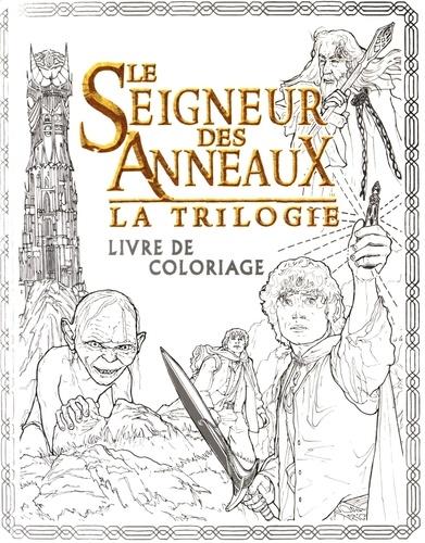 Nicolette Caven - Le Seigneur des Anneaux la trilogie - Livre de coloriage.