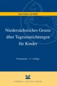 Niedersächsisches Gesetz über Tageseinrichtungen für Kinder.
