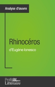 Niels Thorez - Rhinocéros - Profil littéraire.