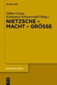 Nietzsche - Macht - Größe - Nietzsche - Philosoph der Größe der Macht oder der Macht der Größe.
