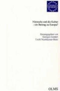 Nietzsche und die Kultur - ein Beitrag zu Europa?.