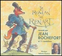 Jean Rochefort - Le Roman de Renart - CD audio.