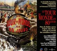 Jules Verne et Jean Debucourt - Le tour du monde en 80 jours. 2 CD audio