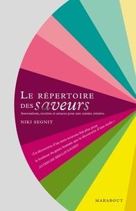 Niki Segnit - Le répertoire des saveurs.