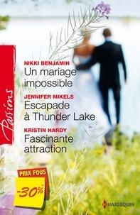Nikki Benjamin et Jennifer Mikels - Un mariage impossible - Escapade à Thunder Lake - Fascinante attraction - (promotion).