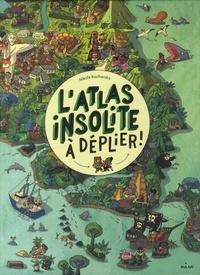Accentsonline.fr L'atlas insolite à déplier Image