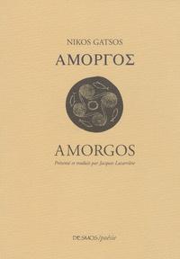 Níkos Gàtsos - Amorgos - Edition bilingue français-grec.