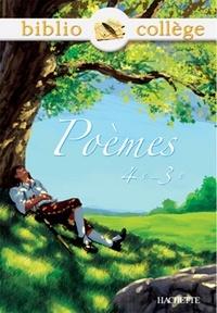 Niloufar Sadighi - Bibliocollège - Poèmes 4e - 3e.