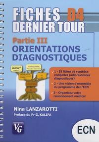 Orientations diagnostiques- Partie III - Nina Lanzarotti |