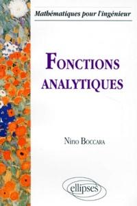 Nino Boccara - Fonctions analytiques.