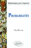 Nino Boccara - Probabilités.