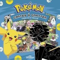 Nintendo - Pokémon Cartes à gratter - Cherche-et-trouve. Avec 10 cartes et 1 bâtonnet.