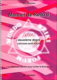 Nita Mocanu - Manuel de Reiki II - Deuxième degré, Usui shiki reiki ryho.