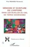 """Nkashama pius Ngandu - Memoire et ecriture de l'histoire dans les """" ecailles du ciel """" de tierno monenembo."""