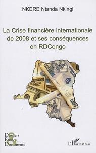 Ucareoutplacement.be La crise financière internationale de 2008 et ses conséquences en RDCongo Image