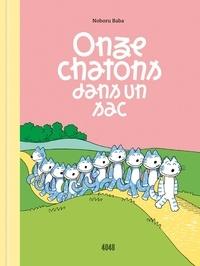 Noboru Baba - Onze chatons dans un sac.