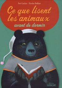 Noé Carlain - Ce que lisent les animaux avant de dormir.