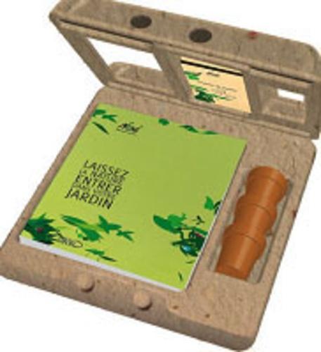 Noé - Coffret Tout savoir pour jardiner éco-responsable et au naturel - Avec 3 sachets de graines à planter : mélange de fleurs pour papillons, mélange champêtre, basilic.