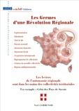 Noël Communod - Les germes d'une révolution régionale.