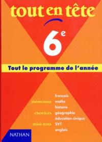 TOUT EN TETE 6EME. Edition 1998 -  Noël   Showmesound.org