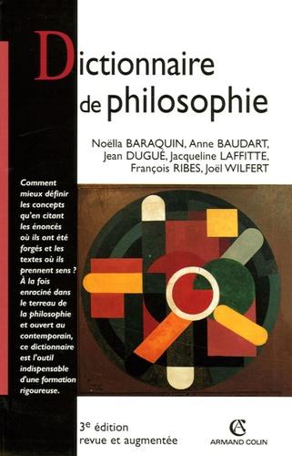 Noëlla Baraquin et Anne Baudart - Dictionnaire de philosophie.