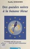 Noëlle Dewavrin et Christiane Scrivener - Des gueules noires à la banane bleue ou Le Nord-Pas-de-Calais face au défi européen.
