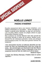 Noëlle Loriot - Prière d'insérer.