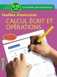 Noemi Van Baelen - Calcul écrit et opérations CM1 - Feuilles d'exercices.
