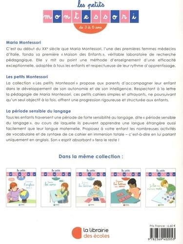 J'apprends l'anglais. Tome 1, de 3 à 6 ans